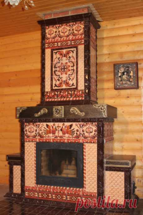Кирпичный камин в частном доме — за и против