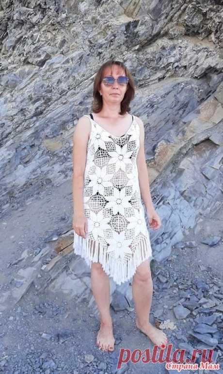 Пляжное платье - Вязание - Страна Мам