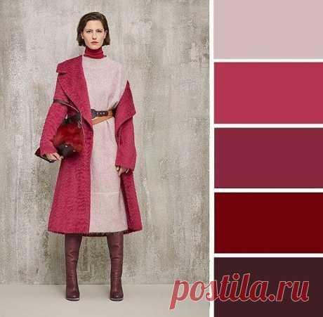 Какие сочетать цветовые палитры для эффектных образов