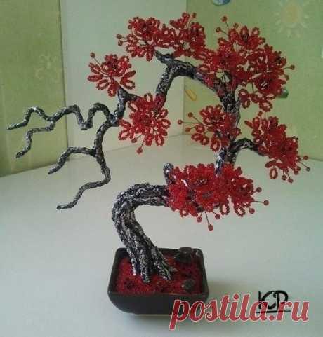 Потрясающие деревья из бисера / Рукоделие