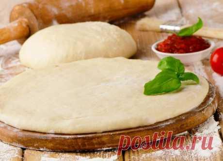 Тесто для пиццы: простые и вкусные рецепты приготовления