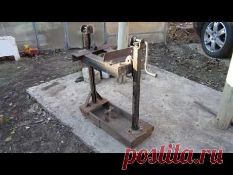 Самодельный съёмник пружин своими руками / Как сделать съёмник пружин