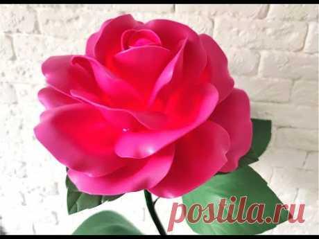 Роза cвітильник із ізолону D-32 см