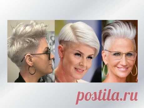 Стильные стрижки андеркат и прически на длинные волосы для зрелых женщин | Мода в деталях | Яндекс Дзен