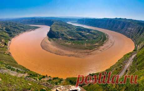 Хуанхэ — «Желтая река» ( Китай)