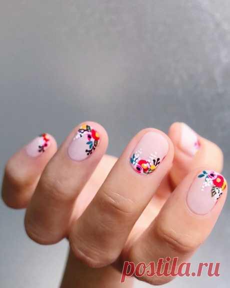 Покажите своему мастеру: 40 идей модного маникюра для коротких ногтей – В РИТМЕ ЖИЗНИ