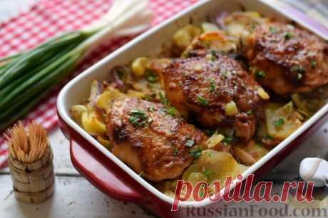 Куриные бедрышки, 30 лучших рецептов.