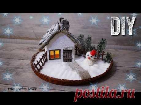 НОВОГОДНИЕ ПОДЕЛКИ. Зимние поделки своими руками.Новогодний декор. DIY Christmas crafts.