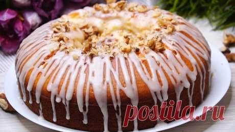 Пирог на молоке «Вулкан» - БУДЕТ ВКУСНО! - медиаплатформа МирТесен