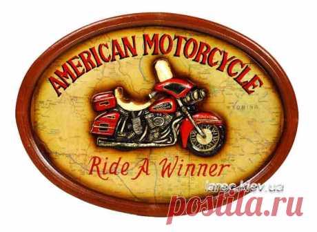 Купить настенное панно Harley Davidson Харли Дэвидсон | Интернет-магазин подарков Ларец