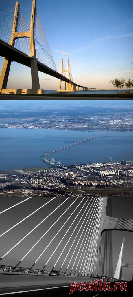Васко да Гама-самый длинный мост в Европе | В мире интересного