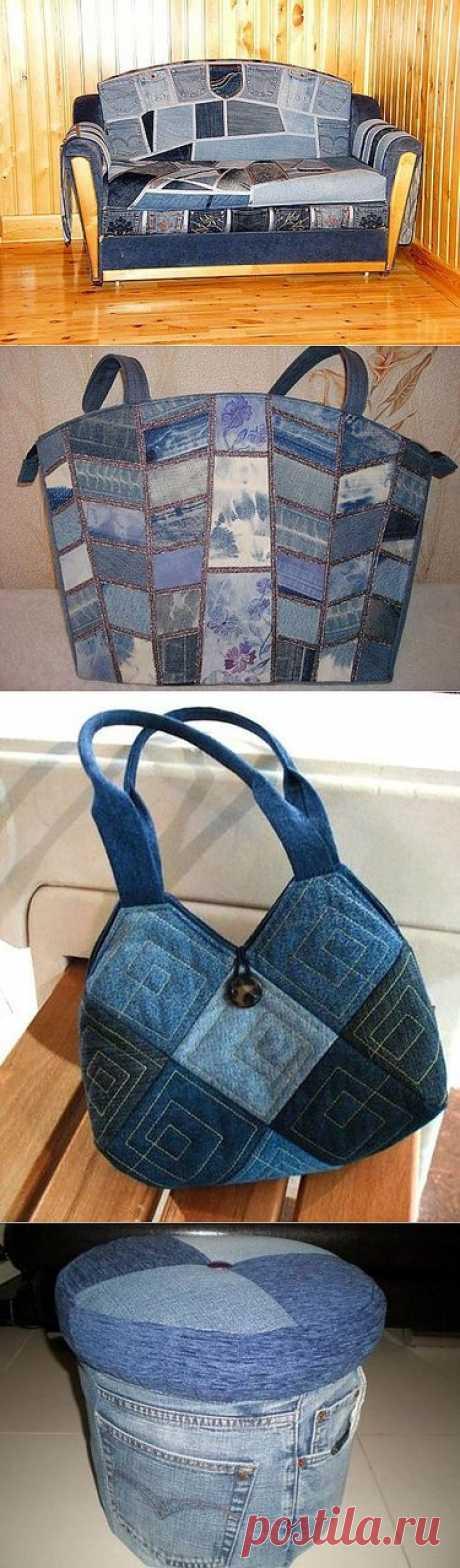«Джинсовые переделки - сумка из джинсов.сумки из джинсовых обрезков...» — карточка пользователя Марина З. в Яндекс.Коллекциях