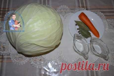 Вкусная квашеная капуста в литровой банке. Рецепт наш семейный, проверенный годами | Народные знания от Кравченко Анатолия