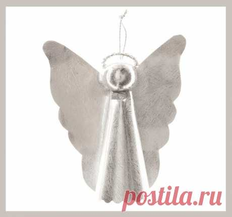 Ёлочные украшения в виде ангелов