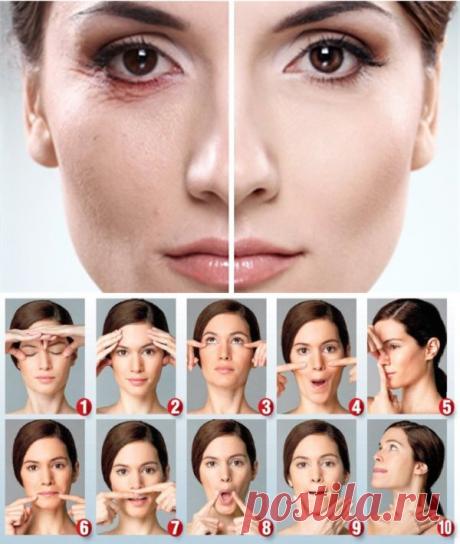 Как сделать подтяжку кожи лица в домашних условиях | Ladynweb.ru