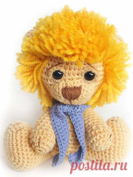 Львам в День Рождения-Вяжем Львёнка.. Крючком. Есть подробное описание.