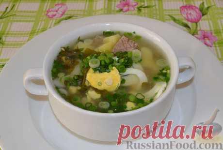 Суп щавелевый. =Много рецептов
