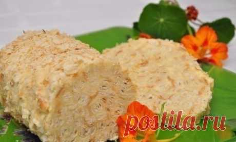 Как приготовить очень вкусный торт слоеное полено - рецепт, ингредиенты и фотографии