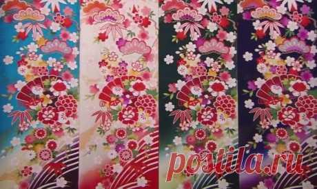 Искусство создания ткани для кимоно Каждое кимоно по-своему особо и неповторимо, ведь ткань для него всегда готовится вручную. Предлагаем вам посмотреть два видео-ролика, в которых вы сможете познакомиться со всеми этапами этого сложного процесса: от создания эскиза, крашения и росписи ткани до золочения и вышивки декоративных элементов.