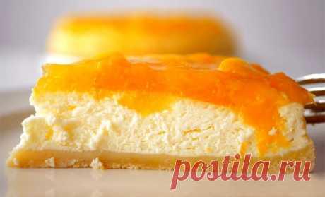 Сметанный пирог с персиками | Рецепты на SuperKuhen.ru