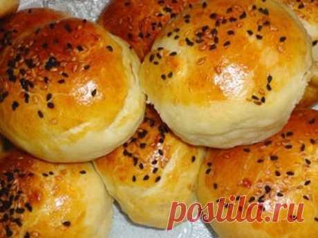 Турецкие булочки с творогом и зеленью! Булочки с начинкой. Peynirli Poğaça Tarifi.