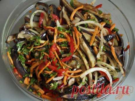 Салат из баклажанов по-корейски - рецепты с фото на vpuzo.com