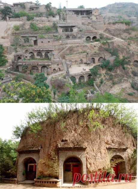 Пещерные люди 21-го века — 30 миллионов китайцев живут в пещерах |