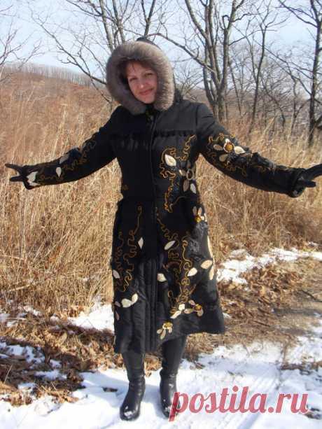 El abrigo de Natalia Zhilenkovoy