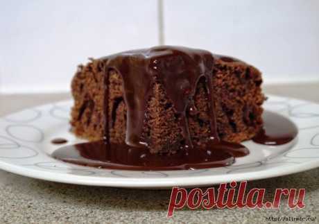 Необычное пирожное!.на растительном масле