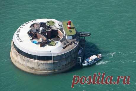 El hotel lujoso en forte defensa costera