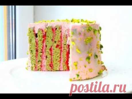 ¡La torta con VERTICAL KORZHAMI!!!! El alfóncigo la Frambuesa
