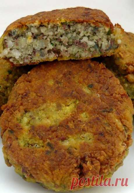 Cutlets from haricot