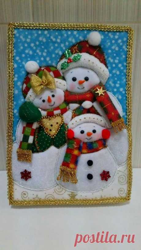 cuadro de la familia nieve