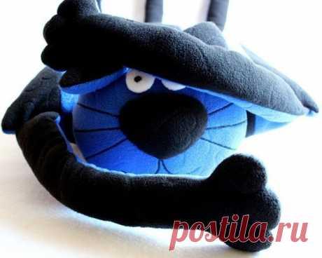 Кот - подушка
