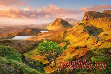 Шотландский остров Скай - Шотландия - Туризм - Это интересно - Фото и видео приколы на Финтиф