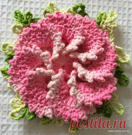 Весенний цветок — Сделай сам, идеи для творчества - DIY Ideas