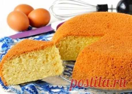 Ванильный бисквит на кипятке Автор рецепта галина драгун - Cookpad