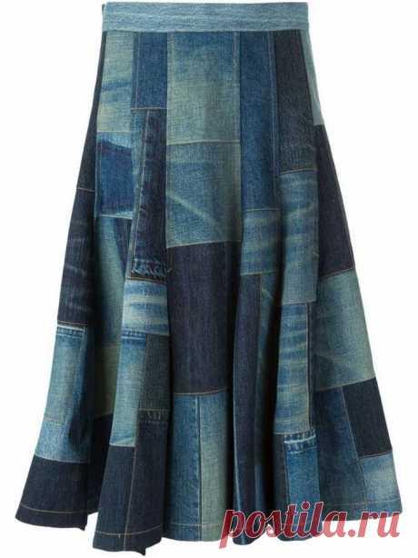 Что можно сшить из старых джинсов: идеи, выкройки