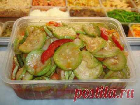 Лучшие кулинарные рецепты: Кабачки по-корейски