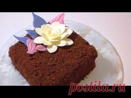 Ooochen la TORTA sabrosa DE CHOCOLATE. delicious chocolate cake.