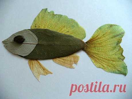 (+1) тема - Сделать с детьми работу из сухих растений   Очумелые ручки
