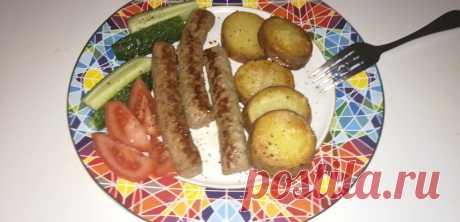Видео приготовление блюда. Чевапчичи с картошкой по деревенски.