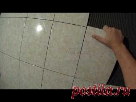 Укладка плитки без крестиков