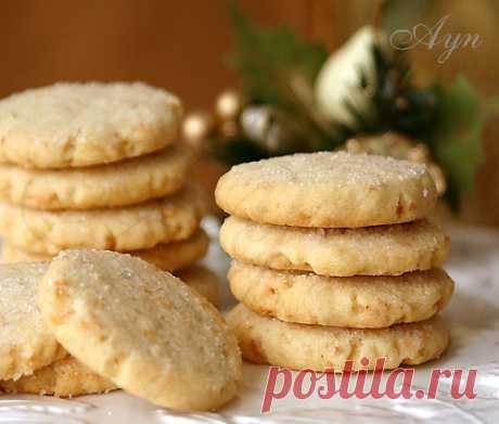 Рассыпчатое печенье — Cook-Talk