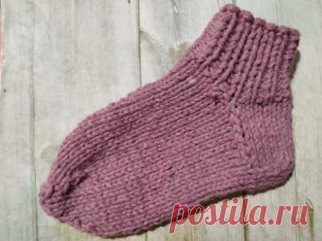 Вязание без хлопот. Самый легкий способ связать носки спицами » «Хомяк55» - всё о вязании спицами и крючком