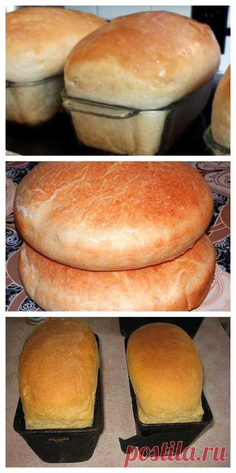 Хлеб домашний – рецепт, который будет передаваться в вашей семье из поколения в поколение!