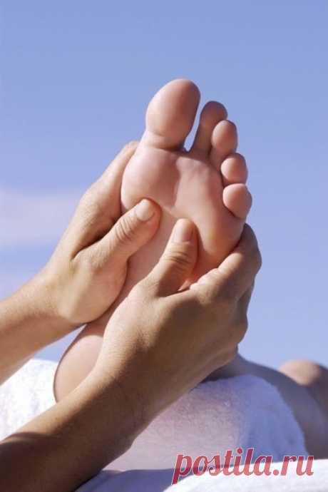 Аюрведический массаж стоп для сибирского здоровья