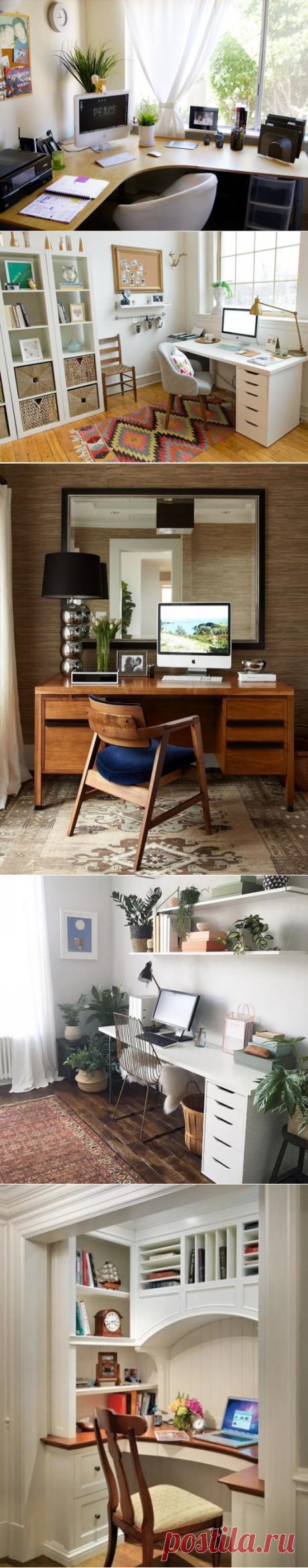 Как создать удобный домашний офис — Pro ремонт