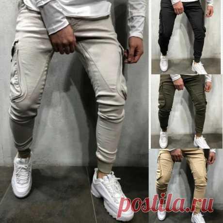 Men's sport running pants zipper athletic quick-drying gyms pant slim soft sweatpants Sale - Banggood.com