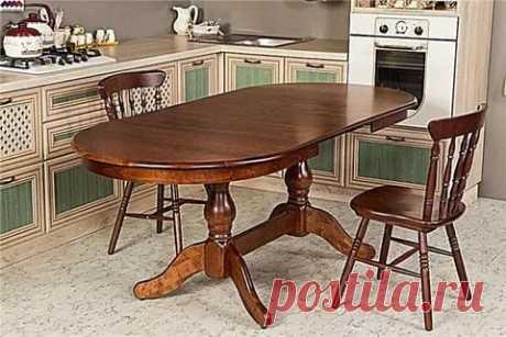 Какой у вас дома стол и что на столе